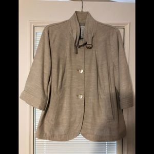Jh collections linen jacket